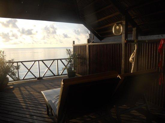 Sipadan-Kapalai Dive Resort: vista dalla ns.terrazza