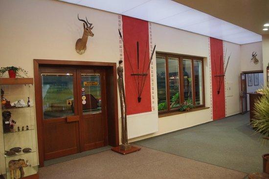Hotel Safari: Hall - reception
