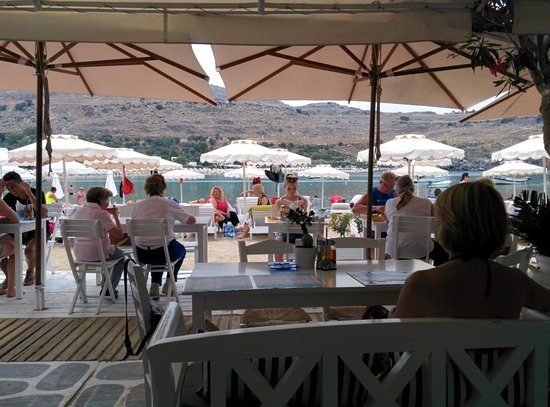 Mare Mare Restaurant : Our view
