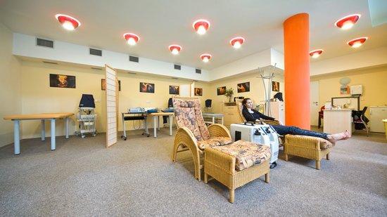 Saint Moritz Spa & Wellness Hotel: Balneotherapy center