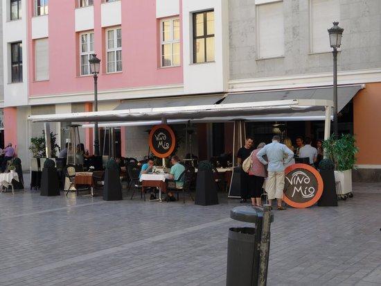 Restaurante Vino Mio : Cocina abierta todos los dias durante todo el dia desde las 13.30