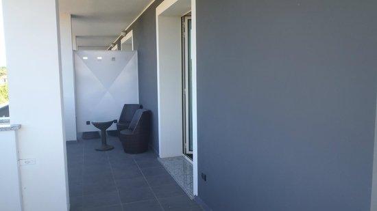 Guest House Residence : Veranda