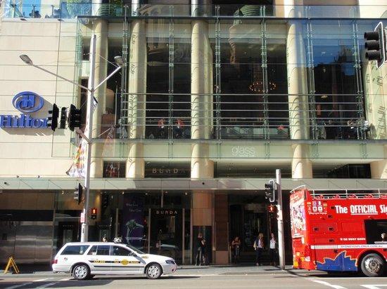 Hilton Sydney : Entrance