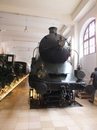 DB Museum (German Railway Museum) : Паровозы