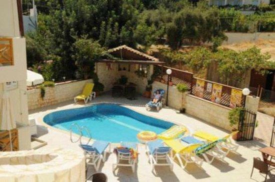 Matheos Apartments: High pool view
