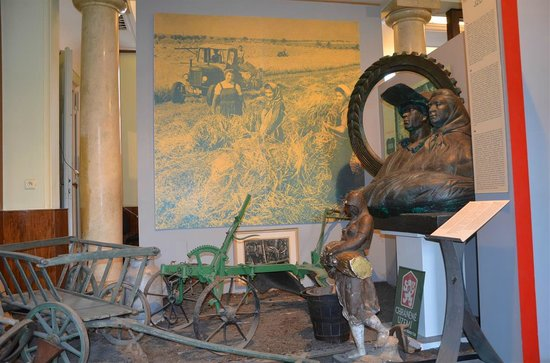Museum of Communism: Landbouwwerktuigen