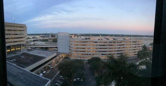 Tampa Airport Marriott : View from our room