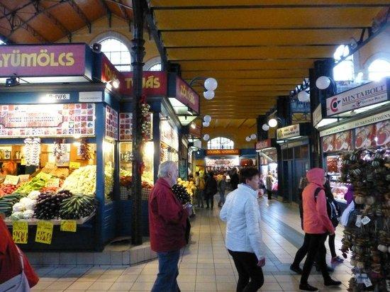 Central Market Hall : Ground Floor Passage and Fresh Vegetables.