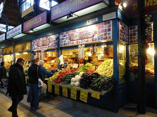 Central Market Hall : Fresh Vegetables.