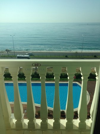 Crowne Plaza Hotel Antalya: The perfect view from my room.