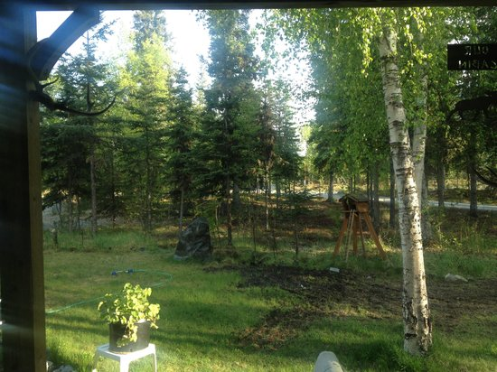 Kenai Lake Escape: View from the room