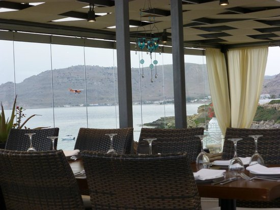 Kyma Beach Restaurant: Our view