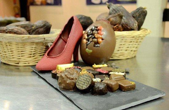 """Musée """"Les Secrets du Chocolat"""" : Gourmandises du Musée"""