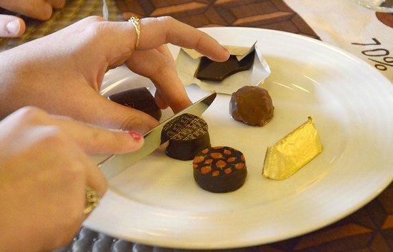 """Musée """"Les Secrets du Chocolat"""" : Dégustation"""