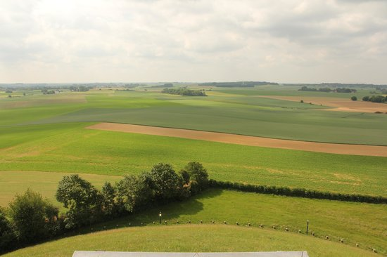 Waterloo battlefield from the mound