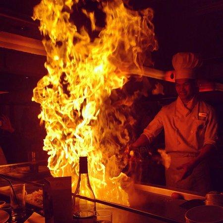 Sapporo Teppanyaki - Manchester: The heat is on !