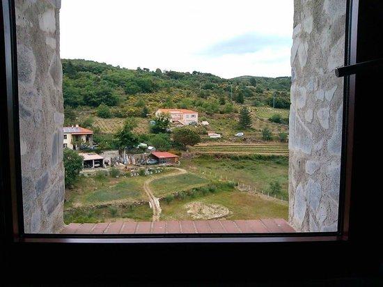 Riberach Hotel Cave-Restaurant : Window view