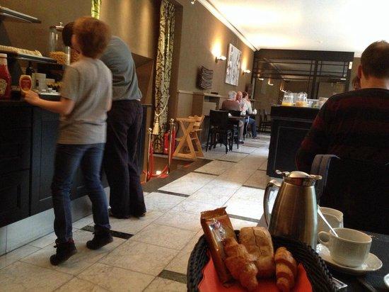Flanders Hotel : Sala colazione 1