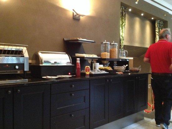 Flanders Hotel : Sala colazione 2