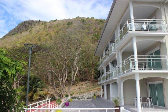 Hotel Bois Joli: Immeuble en hauteur