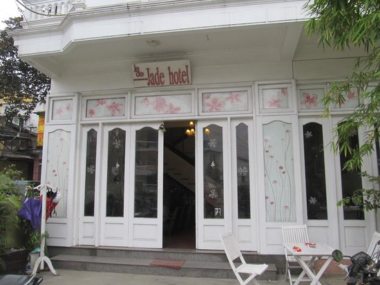 Front of the Jade Hotel