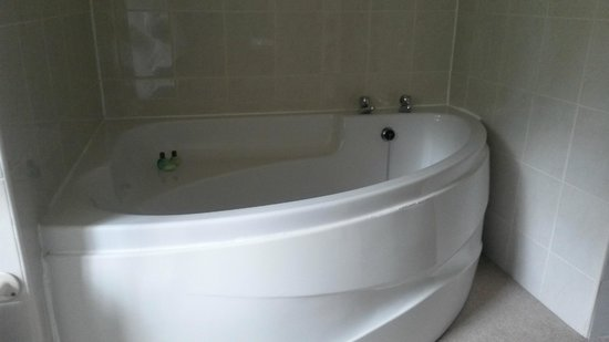Culcreuch Castle Hotel: Corner bath - big enough for two :)