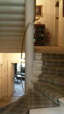Culcreuch Castle Hotel : Spiral staircase