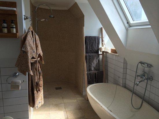 Axel Guldsmeden - Guldsmeden Hotels : Badeværelset