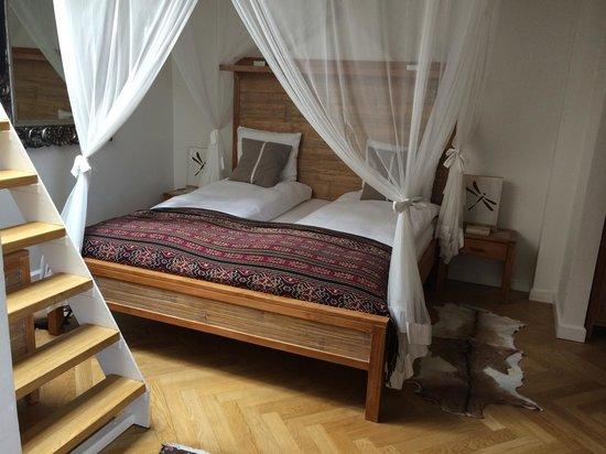 Axel Guldsmeden - Guldsmeden Hotels: Romantisk himmelseng