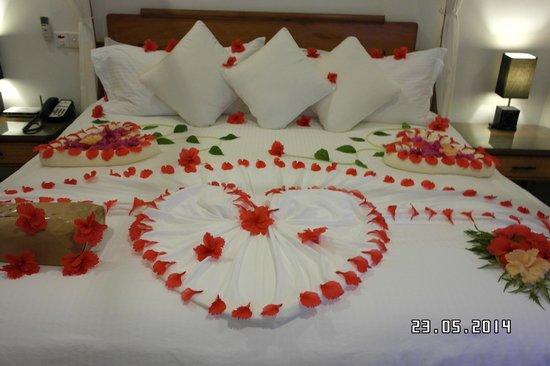 Kuramathi Island Resort : Überraschung für die Hochzeitsnacht