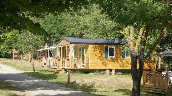 Camping Le Couriou : Mobil-home