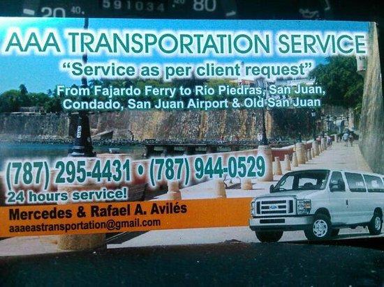 La Coca Falls: Transportación upon clients request