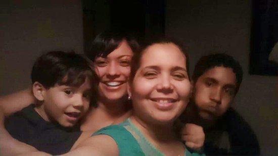 La Coca Falls: My family