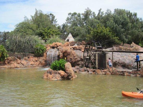 Rancho Texas Lanzarote Park: The Indian Lagoon