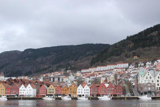 Sandvikstorget: View from port