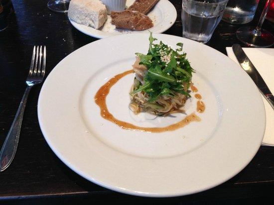 Cafe-Restaurant Rodin : Vorspeise Rochen