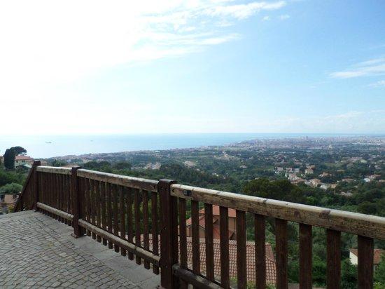 Santuario di Montenero: ..panorama..