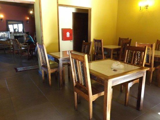 Pyrgos Adrachti : la sala della colazione
