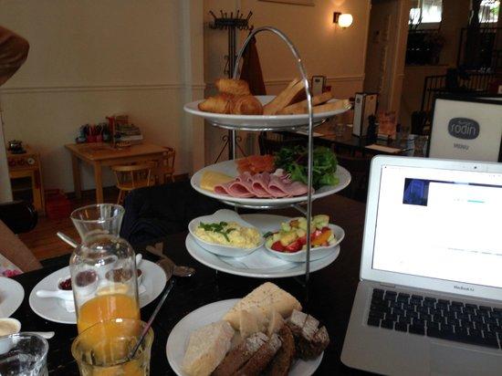 Cafe-Restaurant Rodin : Frühstück