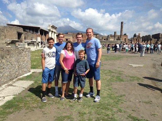 Tours Pompei: Our visit in Pompeii