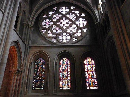 Cathédrale de Lausanne : ステンドグラス