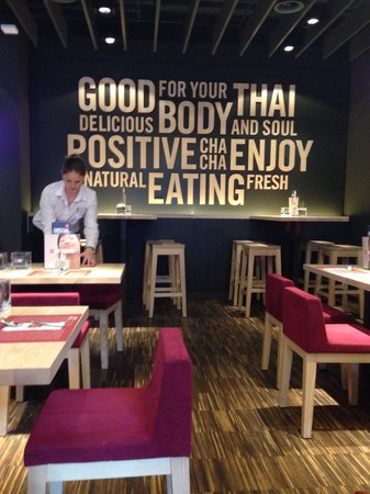 cha cha -  Thai Positive Eating St. Gallen