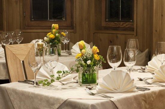 Hotel Haymon : Dining room