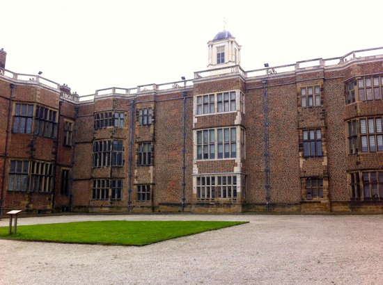 Temple Newsam: The central West Wing
