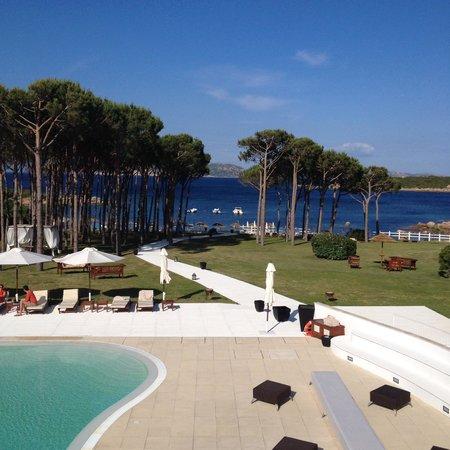 Hotel La Coluccia : Dalla nostra camera!