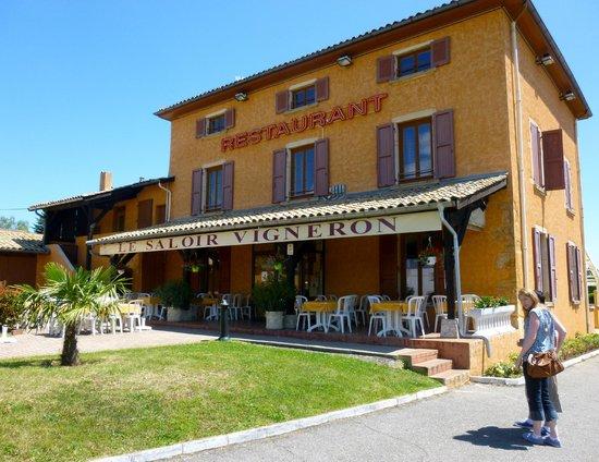 Restaurant Le Saloir Vigneron : Exterior