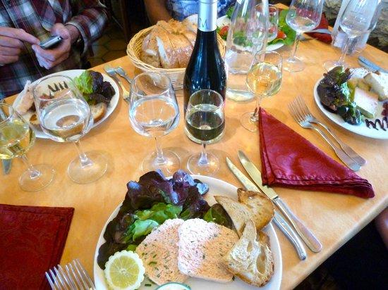 Restaurant Le Saloir Vigneron: A wonderful lunch