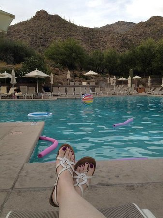 Loews Ventana Canyon Resort : The wonderful pool