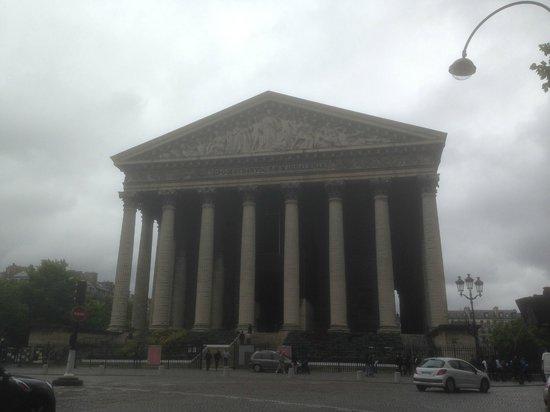 La Madeleine: facciata della Chiesa