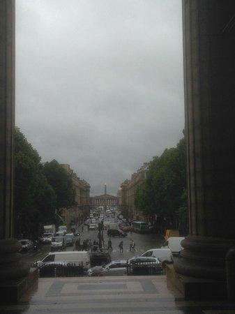 La Madeleine: panorama dall'ingresso principale